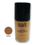 The Rave Cosmetics Liquid Foundation Amber 30 ml