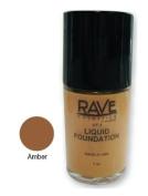 The Rave Cosmetics Liquid Foundation Amber 30 ml