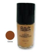 The Rave Cosmetics Liquid Foundation Cocoa 30 ml