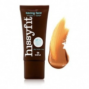 Hissyfit Saving Face Foundation SPF 50 30ml Walnut
