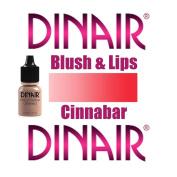 DINAIR AIRBRUSH BLUSH & LIPS MAKEUP - 1 Bottle CINNABAR 5ml