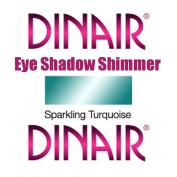 DINAIR AIRBRUSH EYE SHADOW SHIMMER MAKEUP - 1 Bottle SPARKLING TURQUOISE 5ml