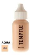 TEMPTU PRO Aqua Airbrush Makeup 30ml Bottle of Beige (#102) Aqua Airbrush Foundation Makeup