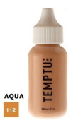 TEMPTU PRO Aqua Airbrush Makeup 30ml Bottle of Bronze II (#112) Aqua Airbrush Foundation Makeup