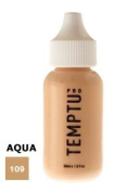 TEMPTU PRO Aqua Airbrush Makeup 30ml Bottle of Dark Golden Beige (#109) Aqua Airbrush Foundation Makeup