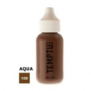 TEMPTU PRO Aqua Airbrush Makeup 30ml Bottle of Ebony (#105) Aqua Airbrush Foundation Makeup