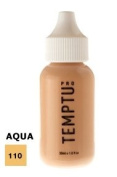 TEMPTU PRO Aqua Airbrush Makeup 30ml Bottle of Golden Olive (#110) Aqua Airbrush Foundation Makeup