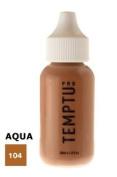 TEMPTU PRO Aqua Airbrush Makeup 30ml Bottle of Mocha (#104) Aqua Airbrush Foundation Makeup