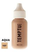 TEMPTU PRO Aqua Airbrush Makeup 30ml Bottle of Natural Beige (#107) Aqua Airbrush Foundation Makeup