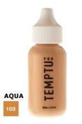 TEMPTU PRO Aqua Airbrush Makeup 30ml Bottle of Natural Tan (#103) Aqua Airbrush Foundation Makeup