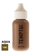TEMPTU PRO Aqua Airbrush Makeup 30ml Bottle of Taupe (#106) Aqua Airbrush Foundation Makeup