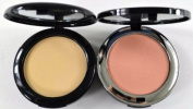 Bella Pierre Compact Mineral Foundation PMF002 Ivory + Blush PMB001 Desert Rose + FREE LED Key Chain