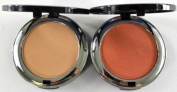 Bella Pierre Compact Mineral Foundation PMF005 Nutmeg + Blush PMB002 Autumn Glow + FREE LED Key Chain
