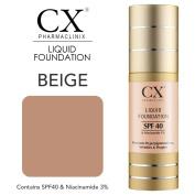 Pharmaclinix CX Liquid Foundation - Beige