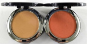 Bella Pierre Compact Mineral Foundation PMF006 Maple + Blush PMB002 Autumn Glow + FREE LED Key Chain