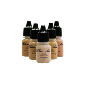 Glam Air Airbrush Water-based Foundation in 5 Assorted Medium Matte Shades