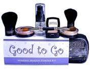 Ageless Derma Good to Go Mineral Makeup Starter Kit Deep