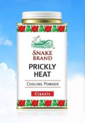 Snake Brand Prickly Heat Cooling Powder Classic 150g.