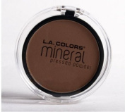 L.A. colours MINERAL PRESSED POWDER MP315 EBONY