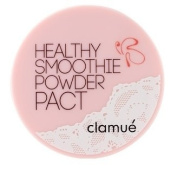 KOREAN COSMETICS, INEL Cosmetics_ clamue, Healthy smoothies powder Pact #NO.21 Healthy nude 10.5g (sebum control, neat type, natural makeup, moisturiser) [001KR]