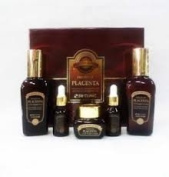 Korean Cosmetics_3w Clinic Premium Placenta Age Repair Special 3pc Gift Set