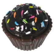 Lip Gloss Naughty but Nice Chocolate Sprinkle in Cupcake Shaped Container