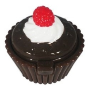 Lip Gloss Naughty but Nice Raspberry Cream in Cupcake Shaped Container