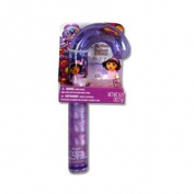 Dora Christmas Candy Cane Shaped Lip Gloss w/ Hanging Sleeve Card