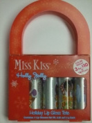 Miss Kiss Holly Jolly Holiday Lip Gloss Tote