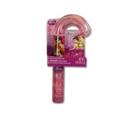 Princess Christmas Candy Cane Shaped Lip Gloss w/ Hanging Sleeve Card