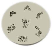 Konad Stamping Nail Art Image Plate - M39