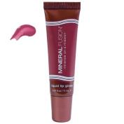 Mineral Fusion, Liquid Lip Gloss, Heat, 0.37 fl oz