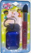 GIRL 2 GIRL KEYCHAIN JEWEL AND LIPGLOSS WAND