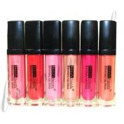 Beauty Treats Shimmery Lip Gloss Set 6 Colours