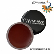 "ITAY Beauty Mineral Cosmetics Nourishing Colour Lip Pot -""Sweet Merlot"" - 09"