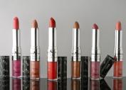6 Italia Duo Long Lasting Round Lip Gloss Lipstick 6pcs