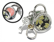 Twist and Pout Jungle Look Lock Charm with Pink Shimmer Gloss, Citrus, 40ml