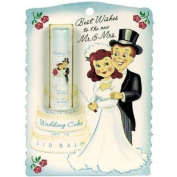 Blue Q - White Silk Wedding Cake Lip Balm SPF 18