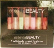 Essential Beauty 7 Deliciously Scented Lip Glosses Set
