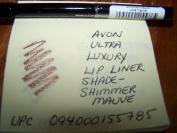 Avon Ultra Luxury Lip Liner in shade Shimmer Mauve