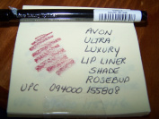 AVON ULTRA LUXURY LIP LINER IN SHADE ROSEBUD 0ml EACH