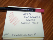 Lot of 3 Avon Glazewear Lip Liner Shade Sheer Rose
