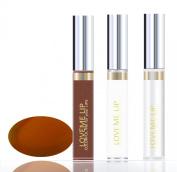 LoveMe Lip Colourful Ink for Your Lips KIT (Colour, Moisturising Gloss, Remover) - Australian Amber