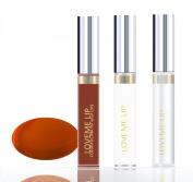LoveMe Lip Colourful Ink for Your Lips KIT (Colour, Moisturising Gloss, Remover) - Bright Copper