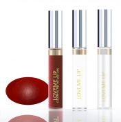 LoveMe Lip Colourful Ink for Your Lips KIT (Colour, Moisturising Gloss, Remover) - CRANBERRY ICE