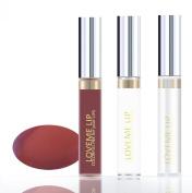 LoveMe Lip Colourful Ink for Your Lips KIT (Colour, Moisturising Gloss, Remover) - DUNE