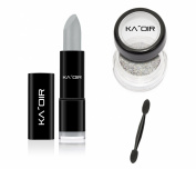 "KA'OIR By Keyshia KAOIR ""PLATINUM"" SILVER Lipstick GLITZSTICK Glitter Set"