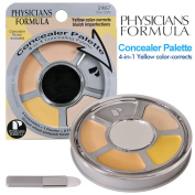 Physicians Formula Concealer Palette 4-in-1 Concealing Palette, Yellow Palette, 5ml