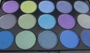 "FLIRTINI 3D LOOK 15 colour shadow palette, ""Smoky eyes"""