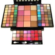 Malibu Glitz 100 Colours Ultimate Combination Makeup Set Palette 08128B 62 Eye Shadows 10 Blushes 4 Powders 24 Lip Colours